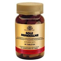 SOLGAR Sole mineralne 100% chelaty, 90 tabletek