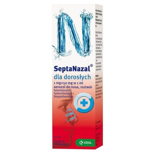 Septanazal dla dorosłych aerozol do nosa 10ml