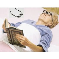 Okulary pryzmatyczne do czytania na leżąco