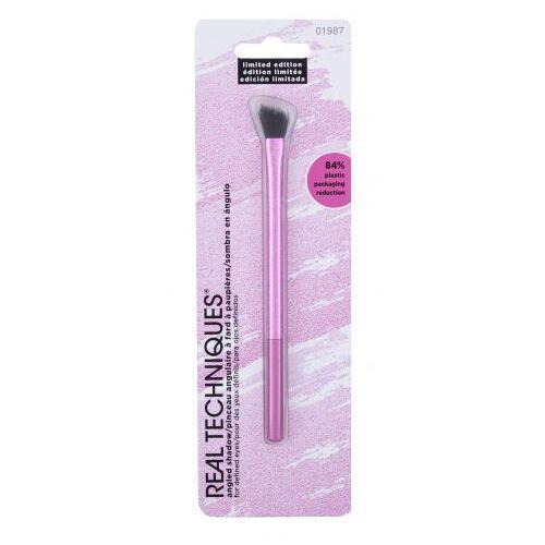 Real techniques pretty in pink angled shadow pędzel do makijażu 1 szt dla kobiet - Genialna cena