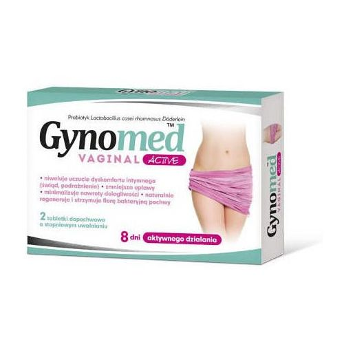 Gynomed Vaginal Active x 2 tabletki dopochwowe