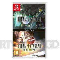 Cenega Gra nintendo switch final fantasy vii + final fantasy viii: remastered - twin pack