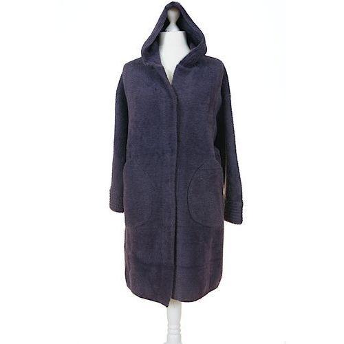 Płaszcz alpaka z kapturem, z