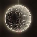 Lustro LED Infinity średnica 20 cm (4001233576290)