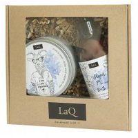 LaQ, zestaw prezentowy męski - peeling i żel