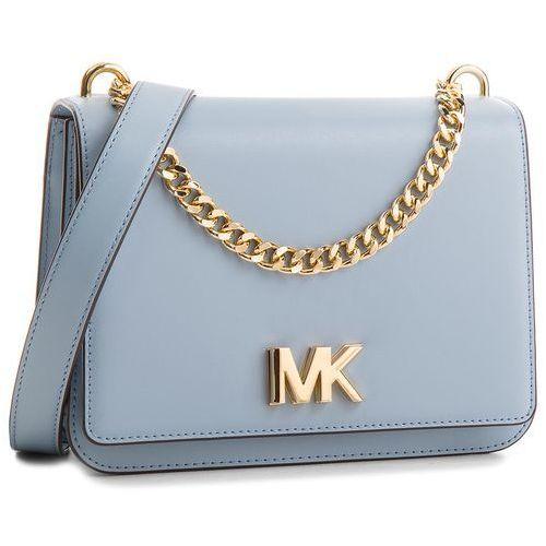 fd2346d15db4c Torebka - mott 30t7goxl7l pale blue (MICHAEL Michael Kors) - sklep ...