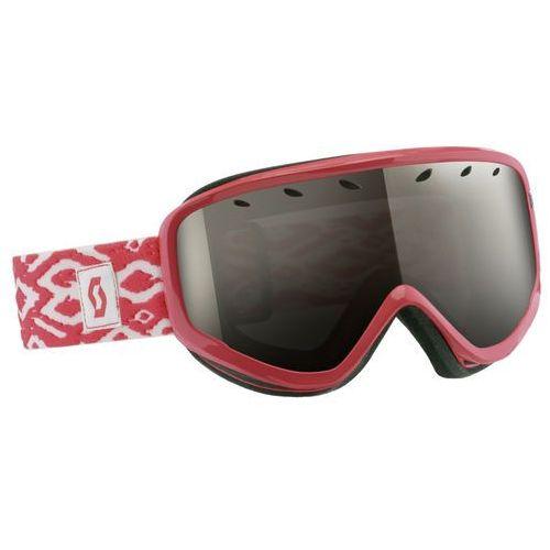 Scott gogle narciarskie Capri coral pink + black chrome