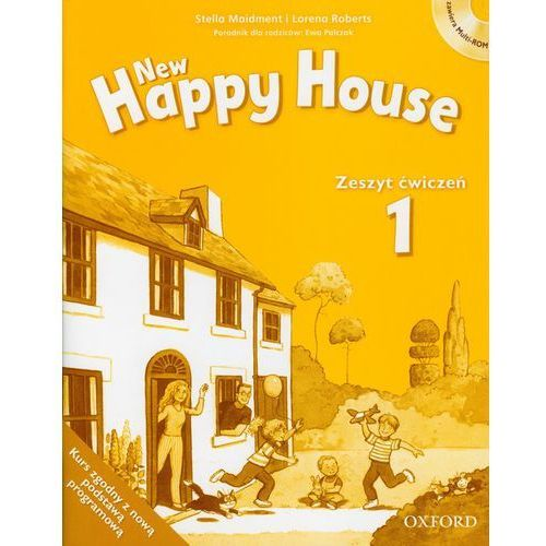 New Happy House 1 Zeszyt ćwiczeń z płytą CD, Oxford University Press