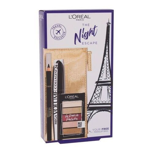 L´Oréal Paris The Night Escape zestaw zestaw Mega Black - Bombowa oferta