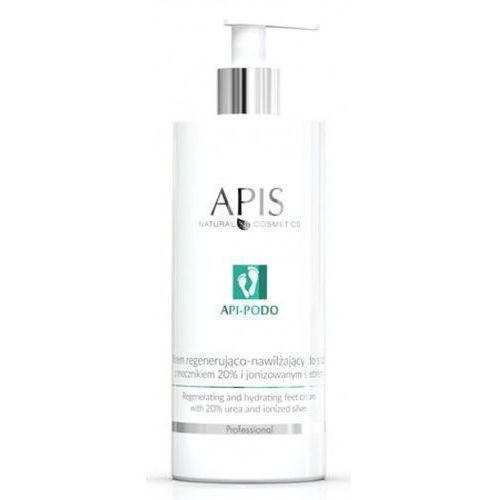 Apis api-podo regenerating and hydrating feet cream with 20% urea and ionized silver krem regenerująco-nawilżający do stóp z mocznikiem 20% i jonizowanym srebrem - 500 ml (53705) - Najtaniej w sieci