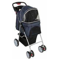 Sporty Pet wózek dla małych psów - Ciemnoniebieski / jasnoszary| -5% Rabat dla nowych klientów| Dostawa GRATIS + promocje (4054651710067)