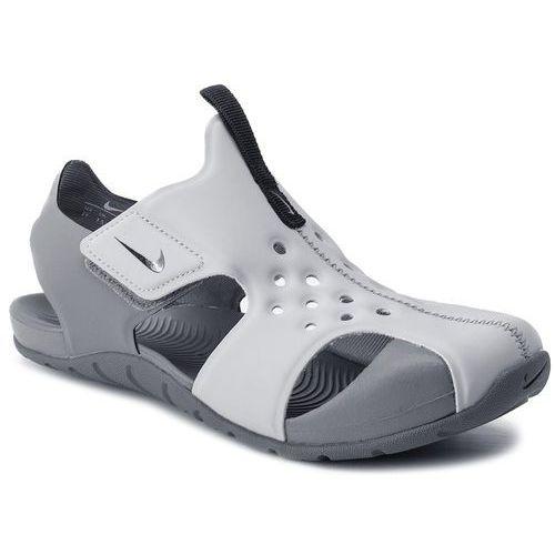 Sandały - sunray protect 2 (ps) 943826 004 wolf grey/black marki Nike