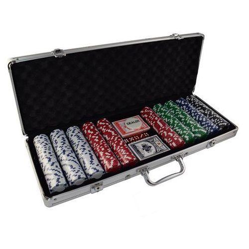 Zestaw 500 żetonów 11,5 gr w aluminowej walizce