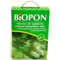 Biopon  do iglaków przeciw brąz igieł 5kg karton (bio1123)