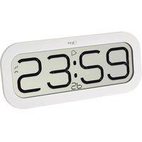 TFA zegar ścienny 60.4514.02 BimBam, biały, BimBam zendergestuurde wandklok met klokslag