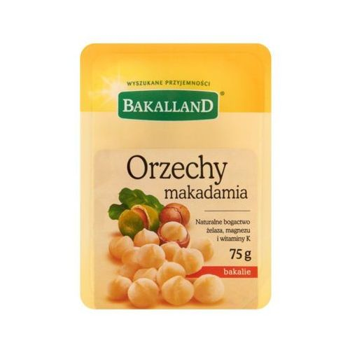 BAKALLAND 75g Orzechy makadamia