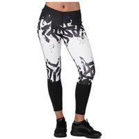 Asics legginsy sportowe damskie 7/8 Tight W Black-White S