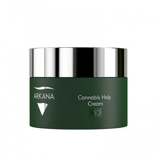 Arkana Cannabis Therapy, kanabisowy krem dla skóry dysfunkcyjnej, 50ml, 53007 - Bombowa cena
