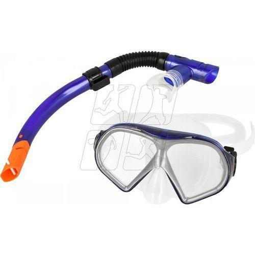 Zestaw do nurkowania ventoza senior niebieski maska + rurka Allright