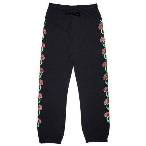 spodnie dresowe SANTA CRUZ - Roses Sweatpant Black (BLACK) rozmiar: 6, kolor czarny
