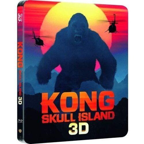 Kong: wyspa czaszki 3d. steelbook (2bd) marki Galapagos