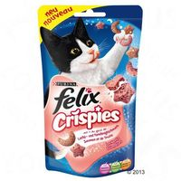 Felix Crispies, Łosoś z pstrągiem - 45 g
