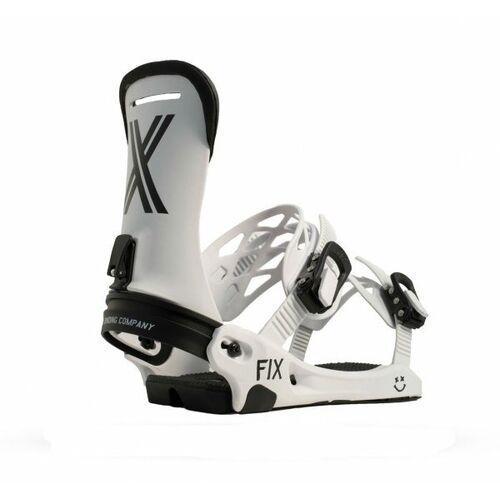 Fix bindings Wiązania snowboardowe fix magnum (white) 2019