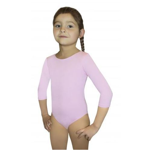 Gwinner Bodysuit girls 3/4 sleeve leotard