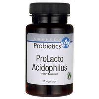Kapsułki Swanson ProLacto Acidophilus (Probiotyki) 60 kaps. (Data ważności 31/01/2018)