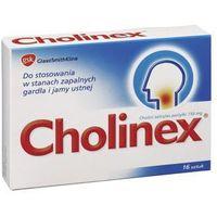 Pastylki CHOLINEX x 16 past. do ssania