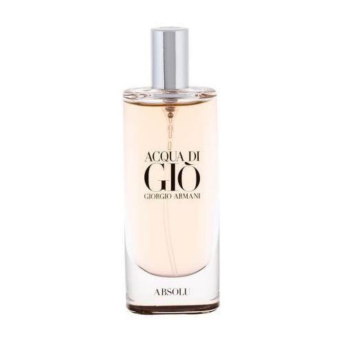 acqua di gio absolu woda perfumowana 15 ml dla mężczyzn marki Giorgio armani