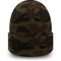 czapka zimowa NEW ERA - MLB Camo cuff DETTIG (MNCBLK) rozmiar: OS