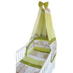 COSING 4 – częściowy zestaw pościeli do łóżeczka COMFORT zielony