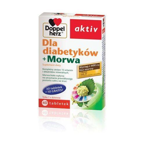 Doppelherz Aktiv dla diabetyków + Morwa