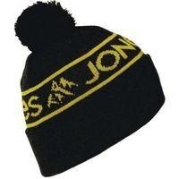 czapka zimowa JONES - Chamonix (BLK-MUSTARD)