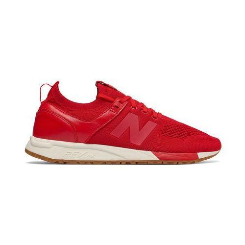 Buty sportowe męskie NEW BALANCE - MRL247-11, kolor czerwony