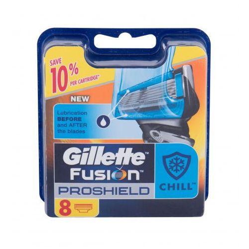 Gillette fusion proshield chill wkład do maszynki 8 szt dla mężczyzn - Promocja