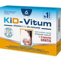 Kapsułki KiD-VITUM Witamina K i D dla niemowląt x 36+6 kapsułek