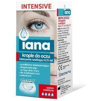 Starpharma sp. z o.o. Iana intensive krople do oczu intensywnie nawilżające 0,3% ha 10ml