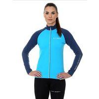 Bluza Damska Brubeck Athletic LS13520 lazurowy/niebieski