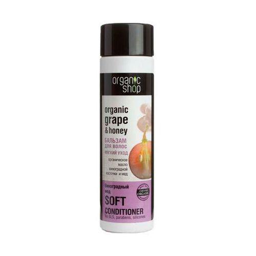 Organic shop, rosja Organic shop balsam organiczny olej z pestek winogron i miód 280ml