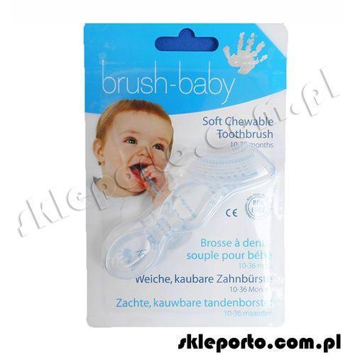Baby Brush gryzak dla dzieci w wieku od 10-36 miesięcy (przeźroczysty)