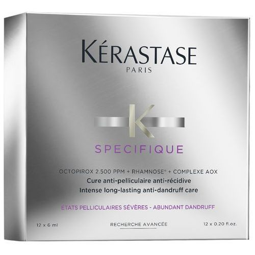 Kerastase Specifique Intense Long-Lasting Anti-Dandruff Care | Kuracja przeciwłupieżowa 12x6ml, K94-E1924600 - Najlepsza oferta