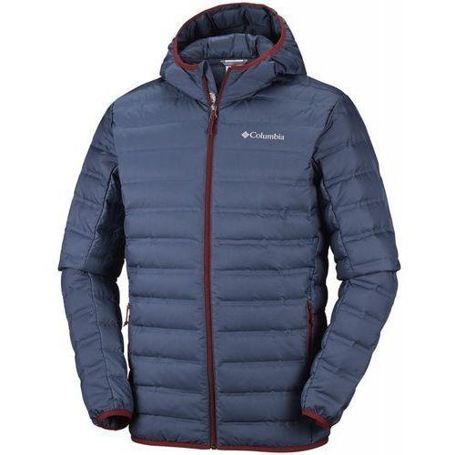 na wyprzedaży outlet na sprzedaż fantastyczne oszczędności Kurtka męska lake 22 down hooded jacket dark mountain xl (COLUMBIA)