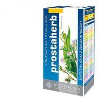 Prostaherb - Suplement diety skuteczna walka z objawami prostaty. Preparat zawiera starannie wyselekcjonowane ekstrakty roślinne i olejki eteryczne, łagodzące symptomy związane z dolegliwościami ze strony układu płciowego mężczyzn. DARMOWA DOSTAWA OD 65 ZŁ (5906874049020)