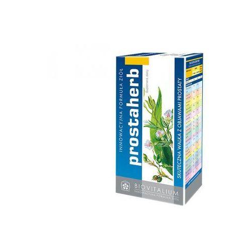 Prostaherb - Suplement diety skuteczna walka z objawami prostaty. Preparat zawiera starannie wyselekcjonowane ekstrakty roślinne i olejki eteryczne, łagodzące symptomy związane z dolegliwościami ze strony układu płciowego mężczyzn. DARMOWA DOSTAWA OD 65 ZŁ