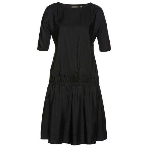 Bonprix Sukienka z nadrukiem czarny