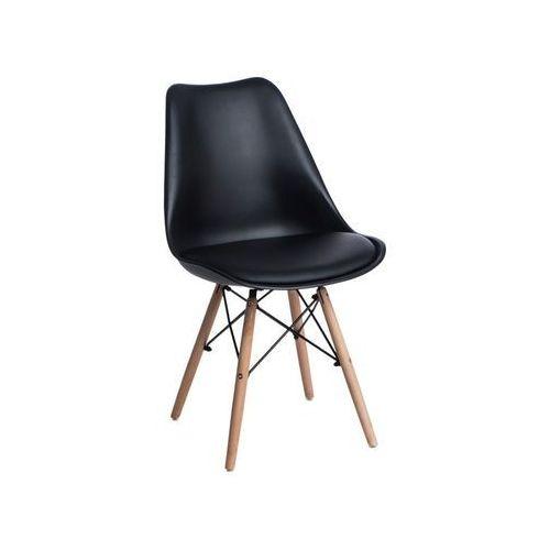 Krzesło Norden DSW PP czarne - czarny, kolor czarny
