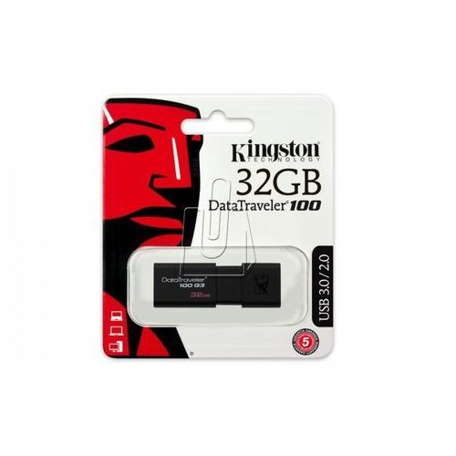 Pamięć usb 32gb datatraveler 100 g3 marki Kingston