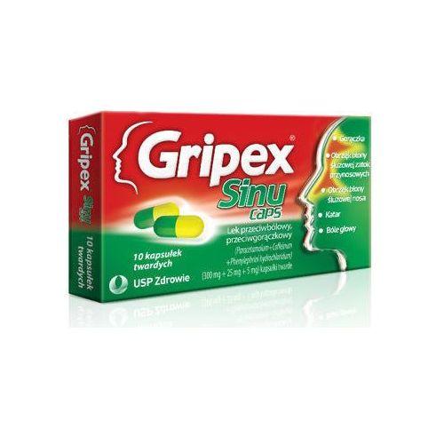 Kapsułki GRIPEX SINUCAPS x 10 kapsułek
